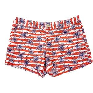 Lilly Pulitzer Fireworks Callahan Shorts Size 14